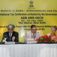 The Secretary, Department of Revenue, Ministry of Finance, Shri P.V. Bhide, addressing on the occasion of the Tax Reform in India – Achievements and Challenges International Tax Conference, in New Delhi on July 02, 2007