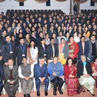 The Union Minister for Finance, Corporate Affairs and Information & Broadcasting, Shri Arun Jaitley with the Officer Trainees of the Indian Revenue Service (Customs & C. Excise) of the 67th Batch, in New Delhi on January 02, 2016