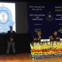 The Union Minister for Finance, Corporate Affairs and Information & Broadcasting, Shri Arun Jaitley addressing at the Investiture Ceremony 2016 and Annual Central Excise Custom Day function, organised by the Central Board of Excise and Customs (CBEC), in New Delhi on February 24, 2016. The Minister of State for Finance, Shri Jayant Sinha and the Secretary, Revenue, Dr. Hasmukh Adhia are also seen